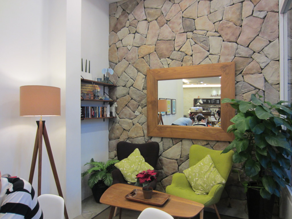 Situated right beside our dining table. Perfect for relaxation & great place for photo op! :P